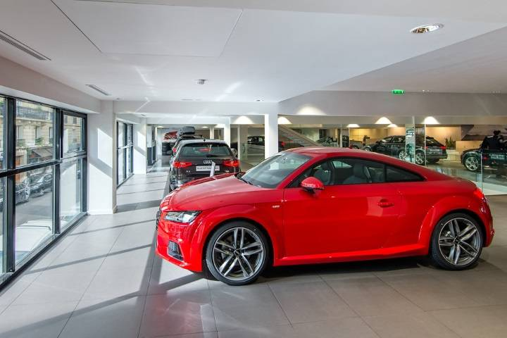 Audi neuves en stock chez Bauer Paris