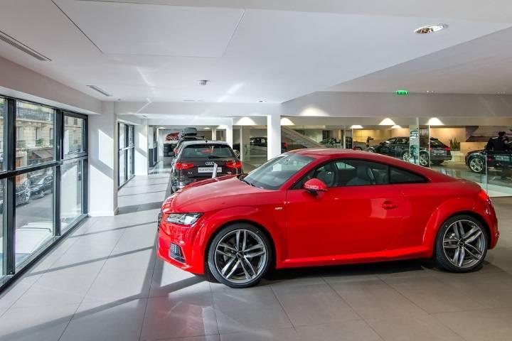 Audi Bauer Paris Wagram 75