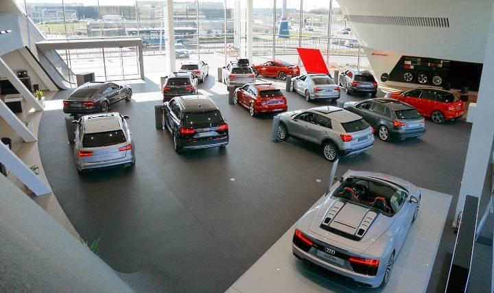 Audi Bauer Paris Roissy 95