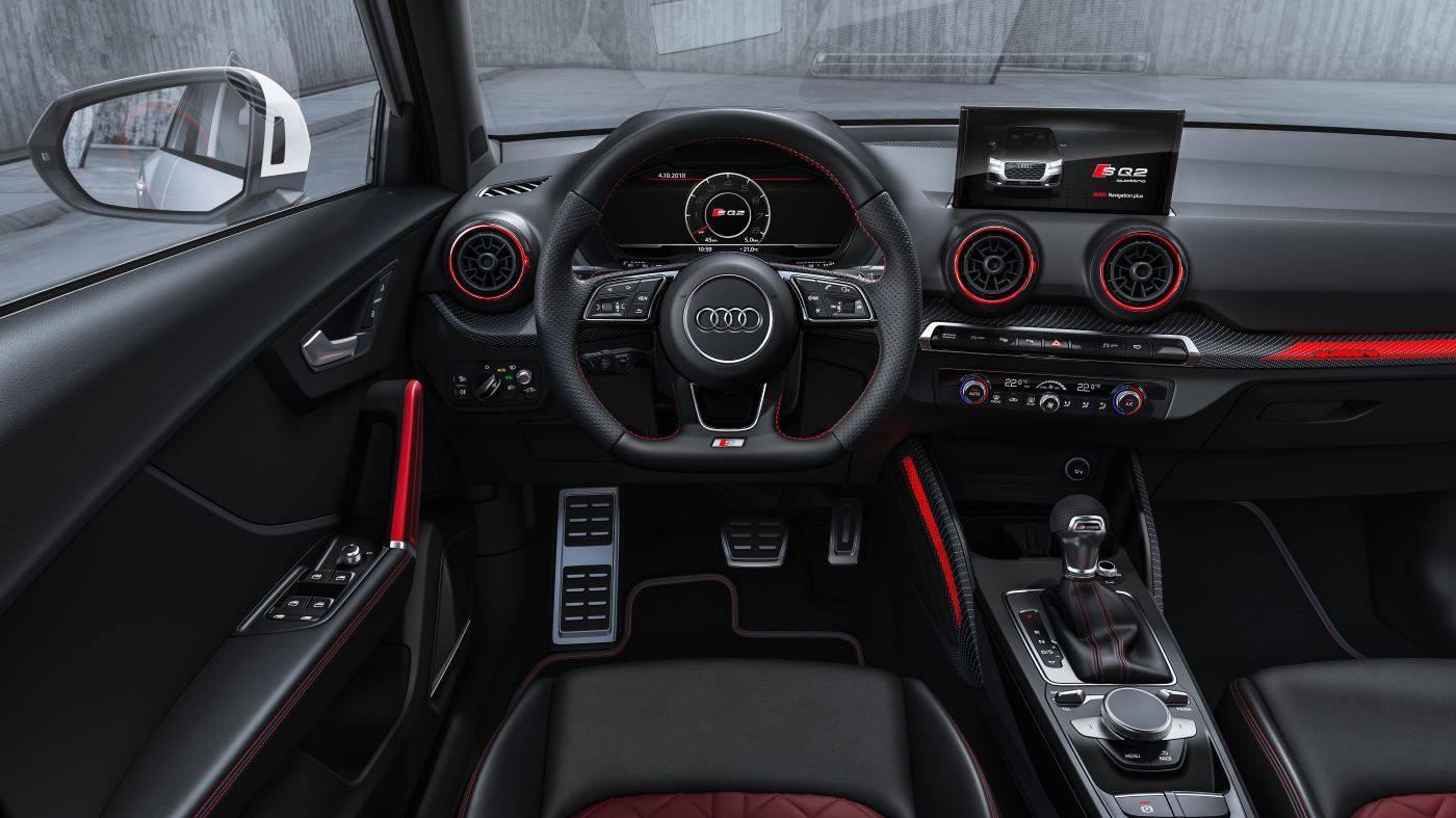 Nouvelle Audi SQ2 2019 intérieur sport luxueux 2