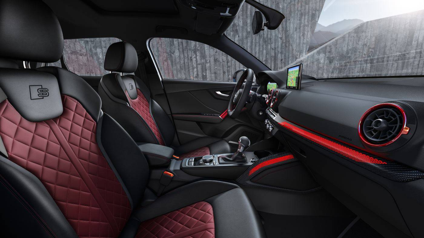 Nouvelle Audi SQ2 2019 intérieur sport luxueux