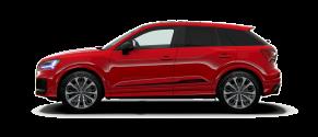 Audi SQ2 rouge