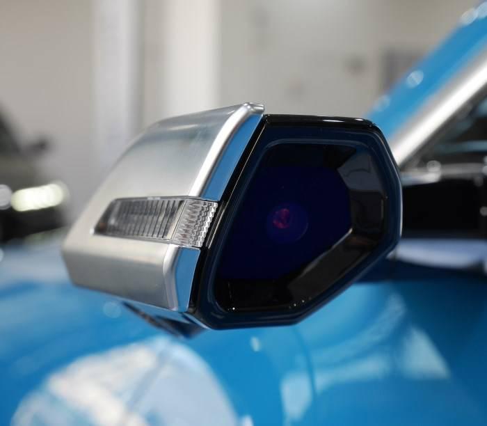 Audi e-tron rétroviseur virtuel détail