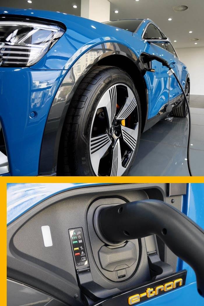 Audi e-tron Edition One recharge électricité