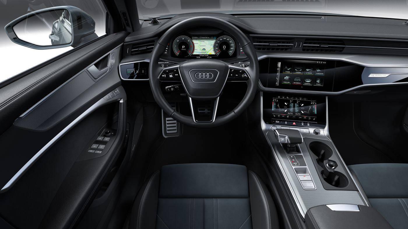 Nouvelle Audi A6 allroad quattro 2020 tableau bord
