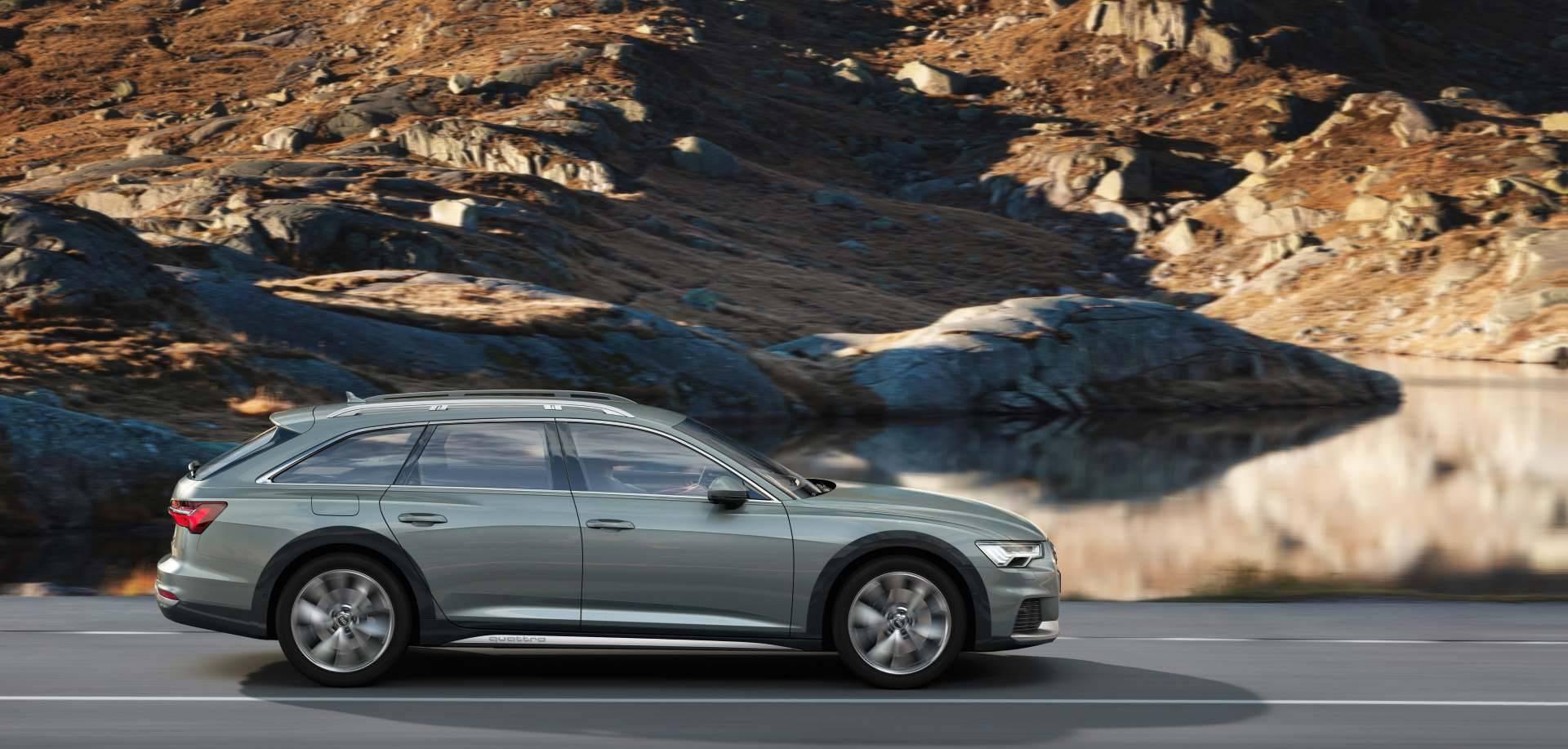 Nouvelle Audi A6 allroad quattro 2020 profil