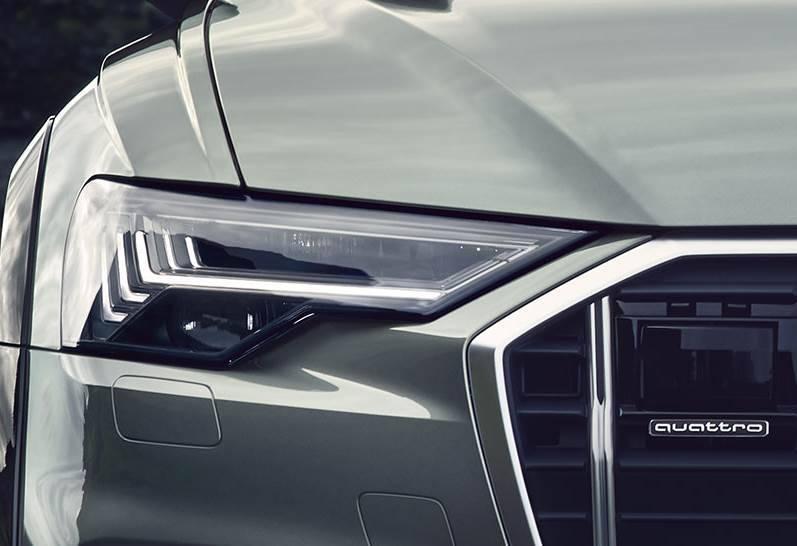 Nouvelle Audi A6 allroad quattro 2020 phares
