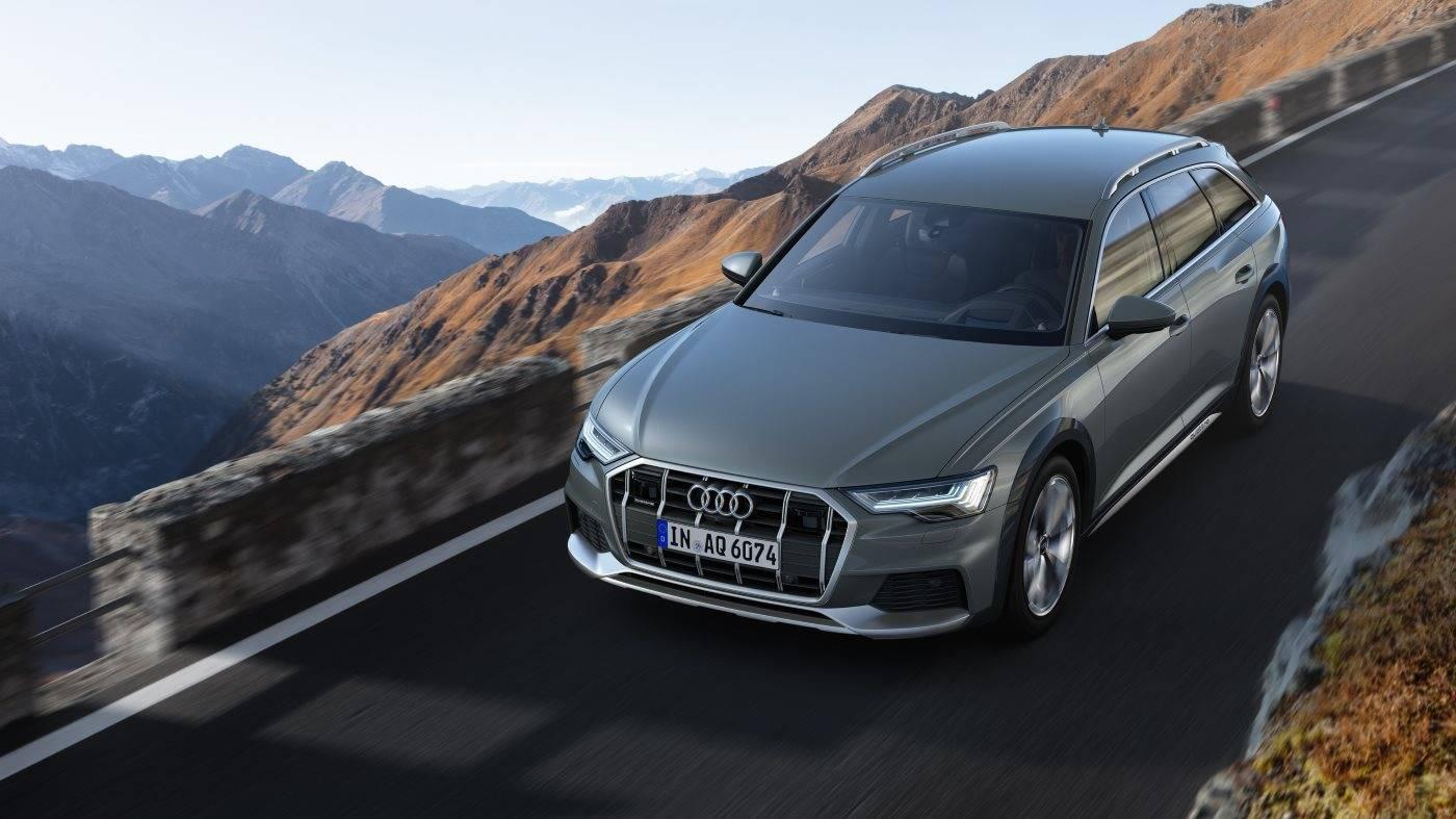 Nouvelle Audi A6 allroad quattro 2020 3/4 avant