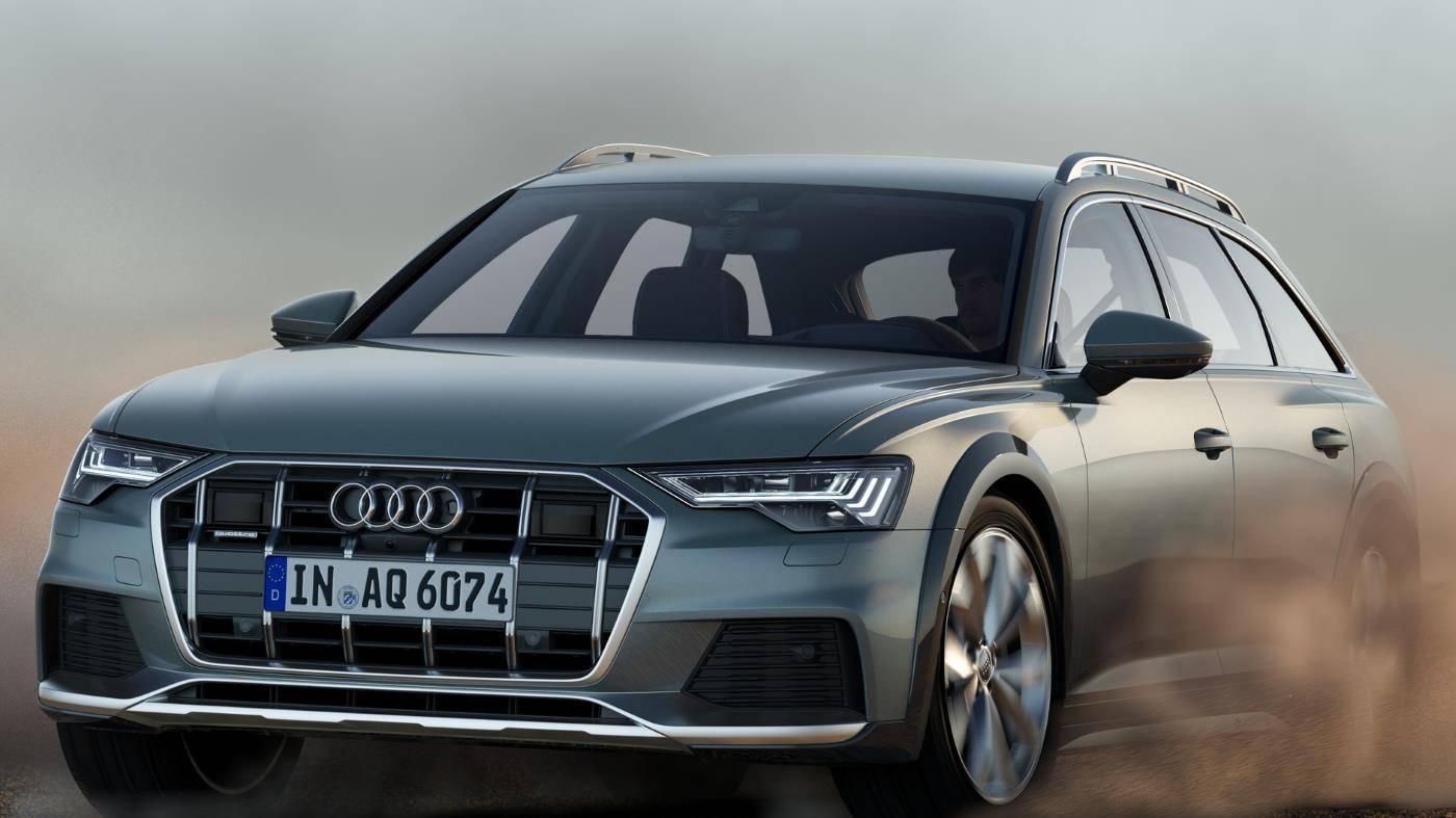 Nouvelle Audi A6 allroad quattro 2020 avant robust