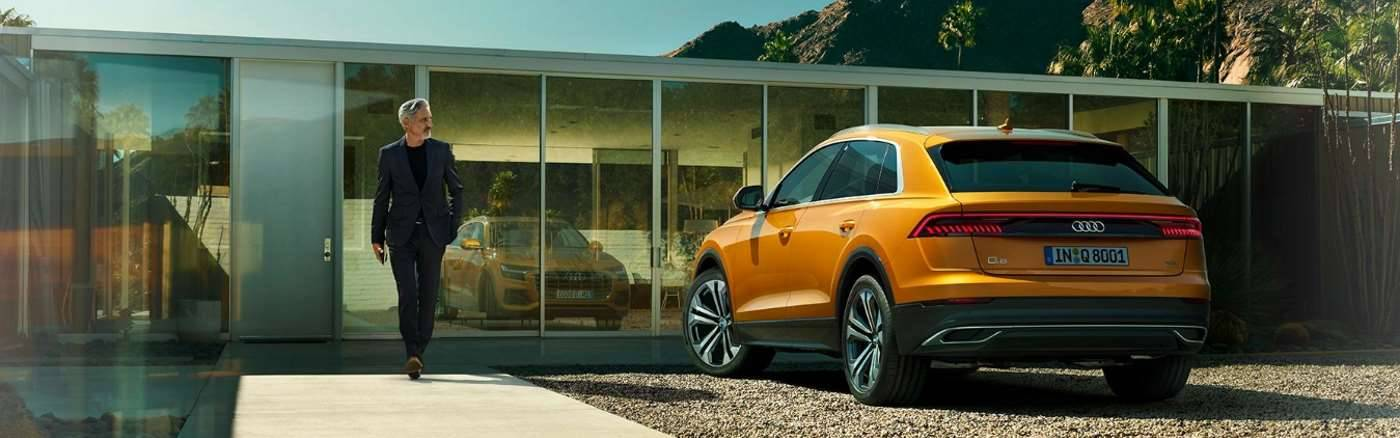 Nouvelle Audi Q8 > Vue arrière