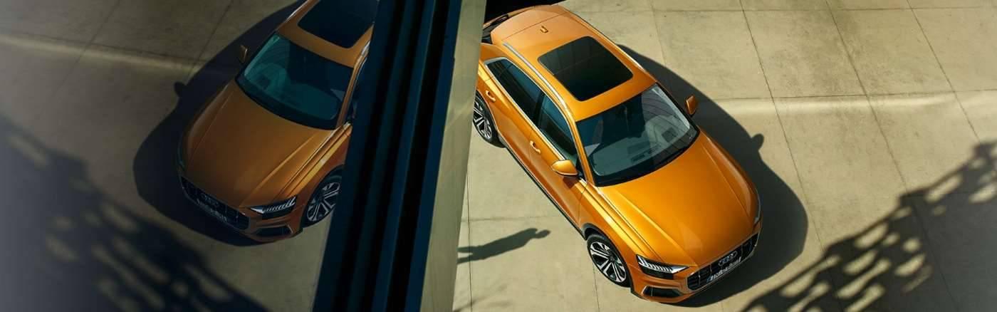 Audi Q8 > Vue de dessus