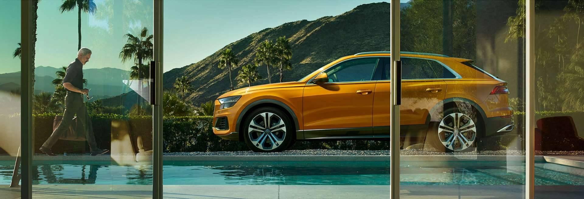 Audi Q8 > Vue de profil