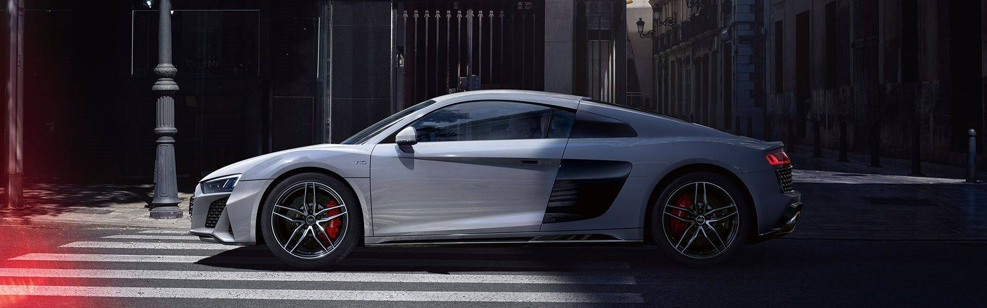 Nouvelle Audi R8 coupé V10 image photo profil