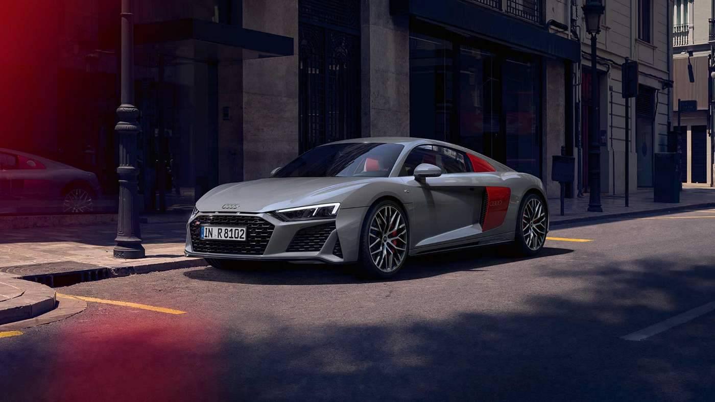 Nouvelle Audi R8 coupé V10 image personnalisation
