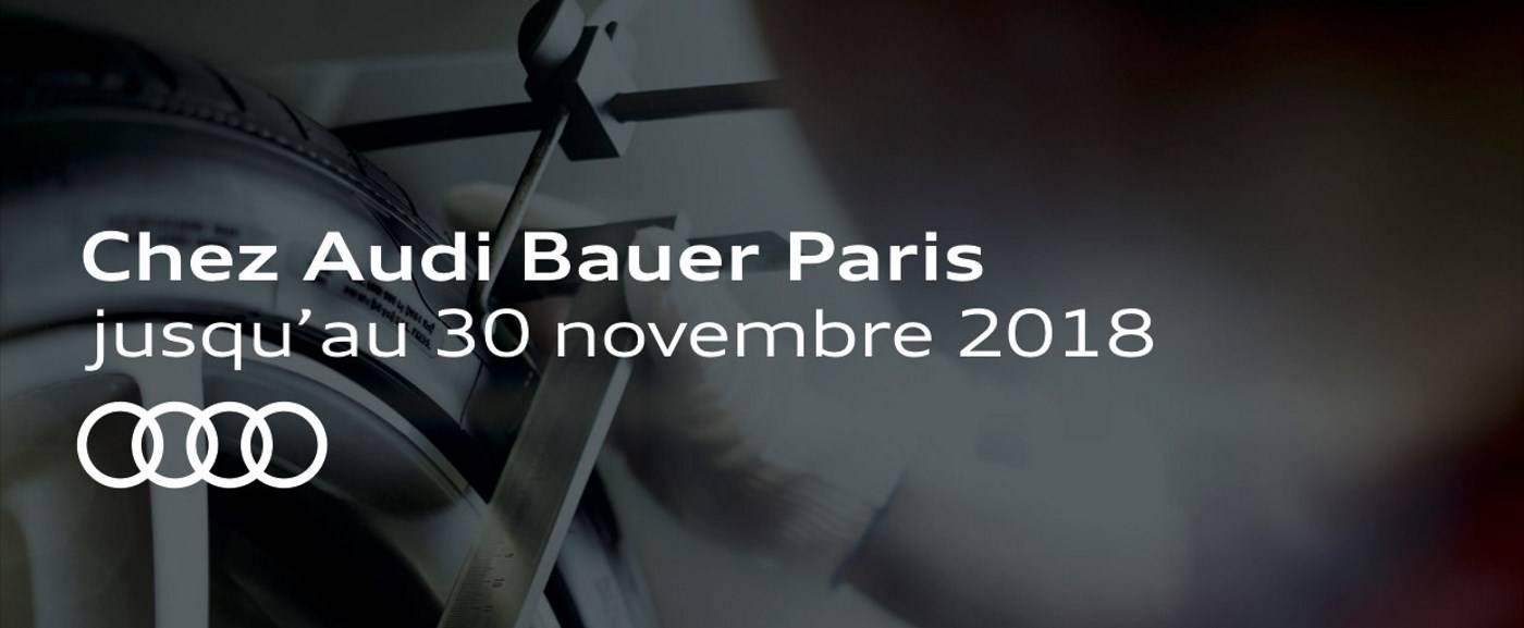 Durée offre pneumatiques Audi Paris 2=4