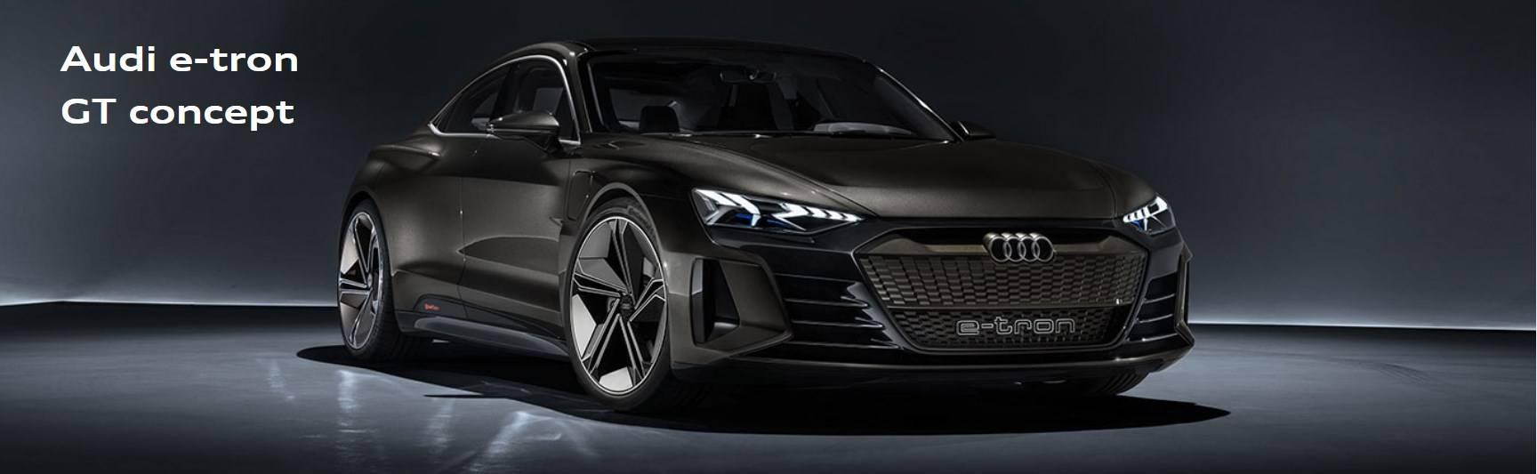 Audi e-tron GT concept photo 1