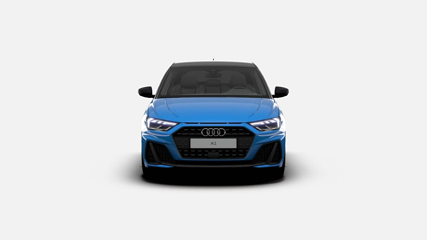 Nouvelle Audi A1 Turbo Blue Edition 1