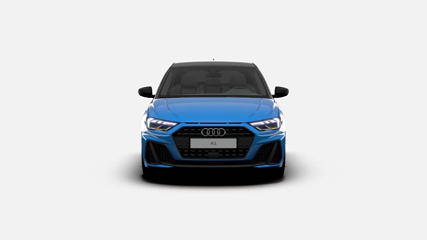 Nouvelle Audi A1 Turbo Blue Edition 1