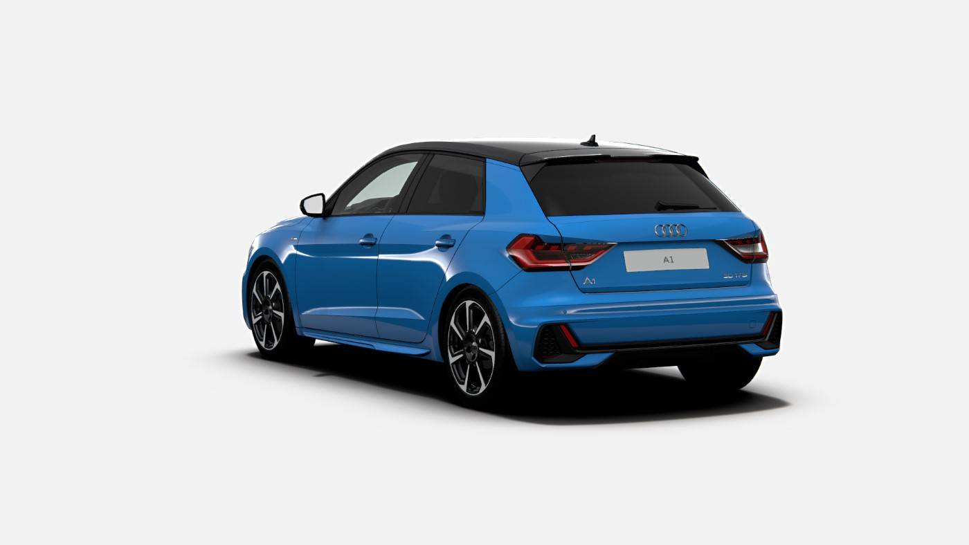 Nouvelle Audi A1 Turbo Blue Edition 3