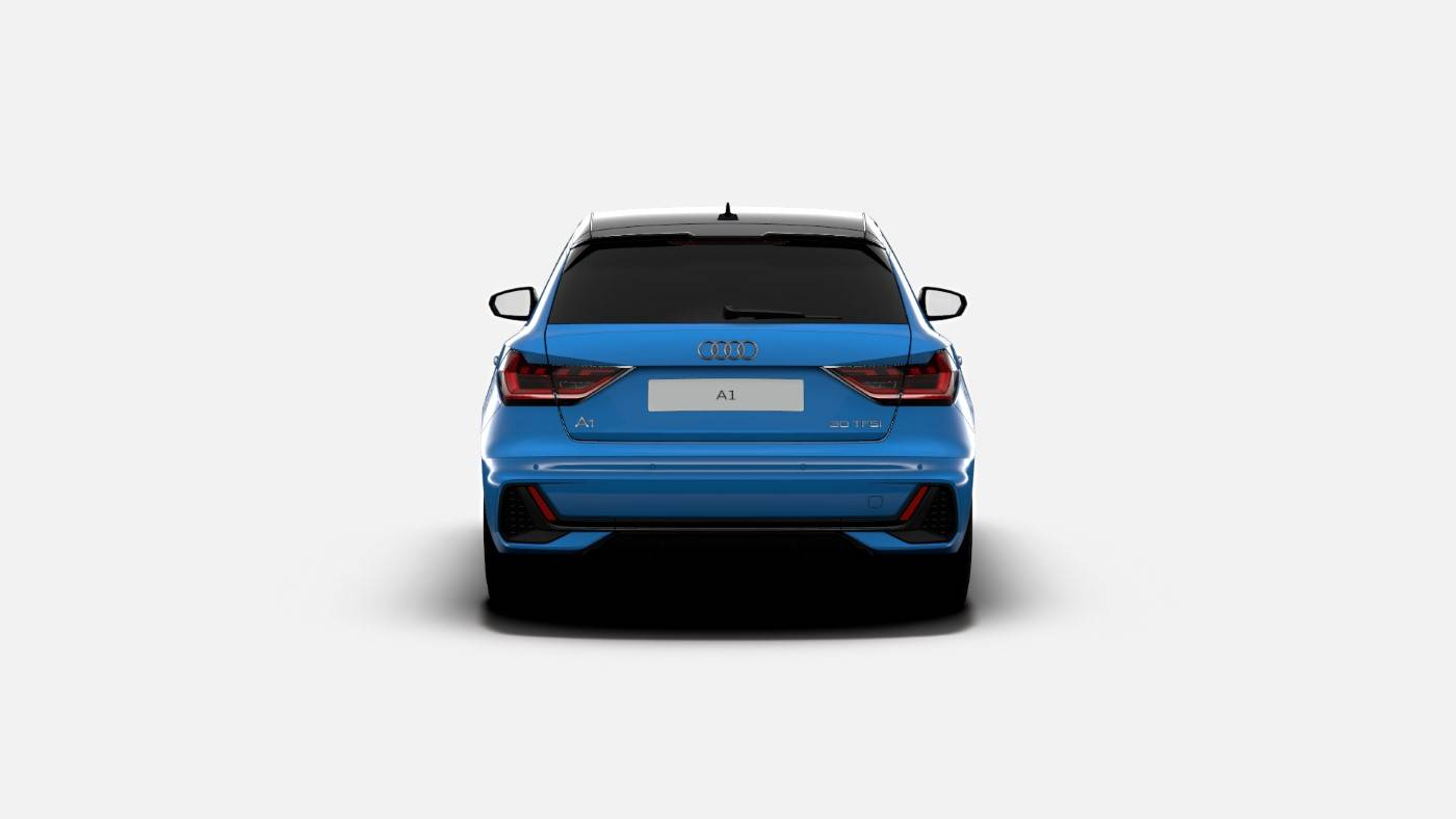 Nouvelle Audi A1 Turbo Blue Edition 4