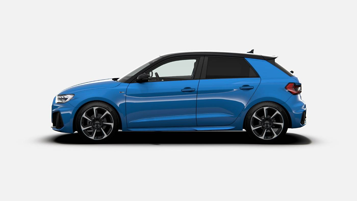 Nouvelle Audi A1 Turbo Blue Edition 2