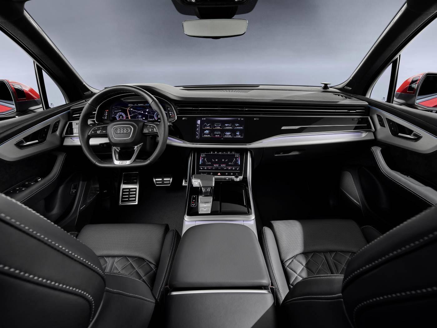 Nouvelle Audi Q7 2019 2020 intérieur