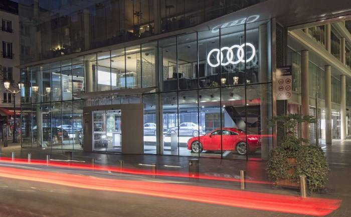 Fermeture Audi City Paris