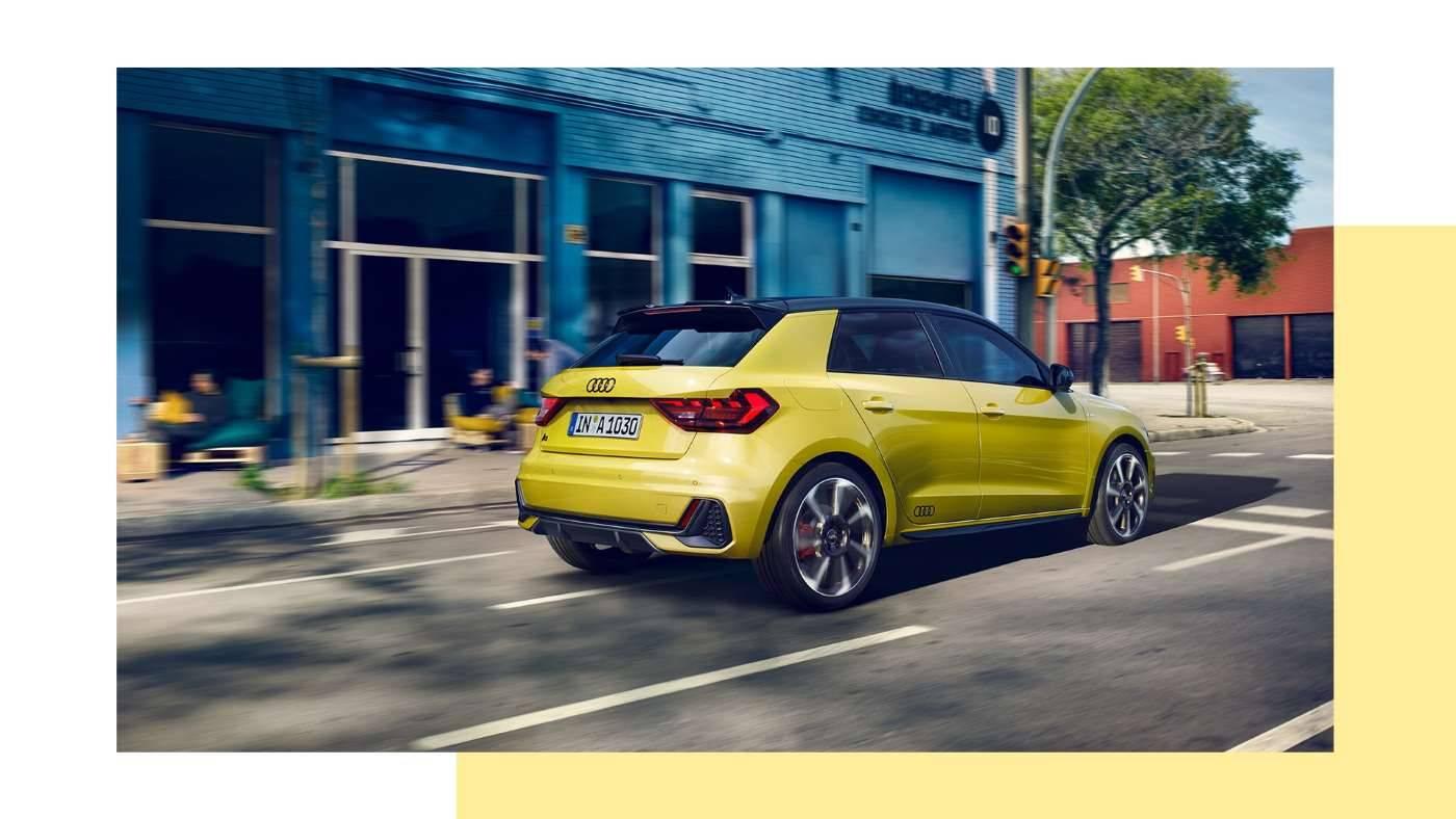 Nouvelle Audi A1 Sportback 2018 - 3/4 arrière