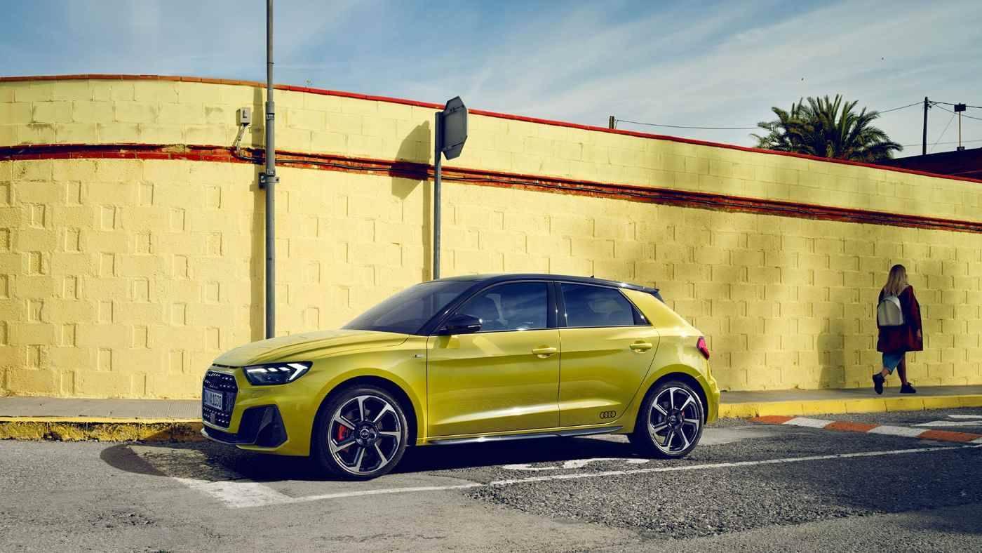 Nouvelle Audi A1 Sportback 2018 - Profil