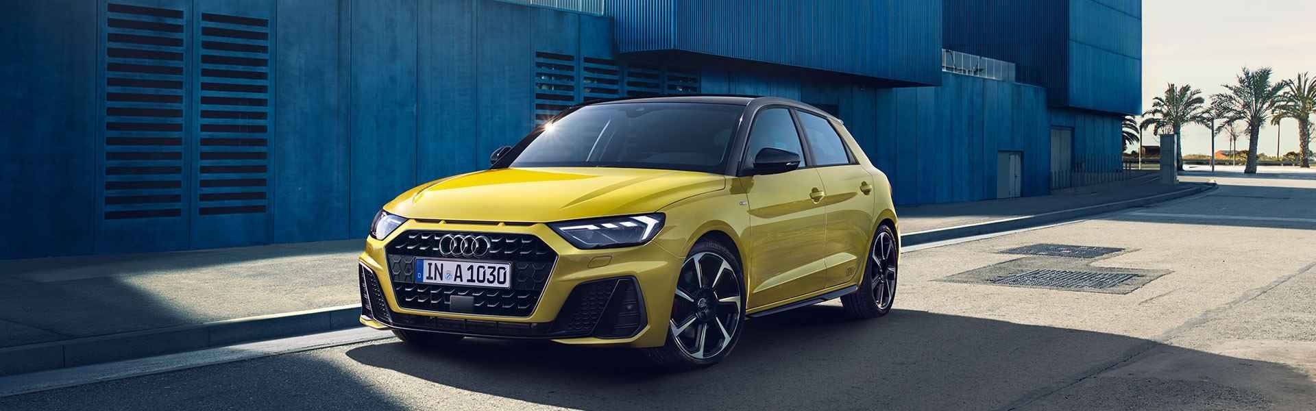 Nouvelle Audi A1 Sportback 2018 header