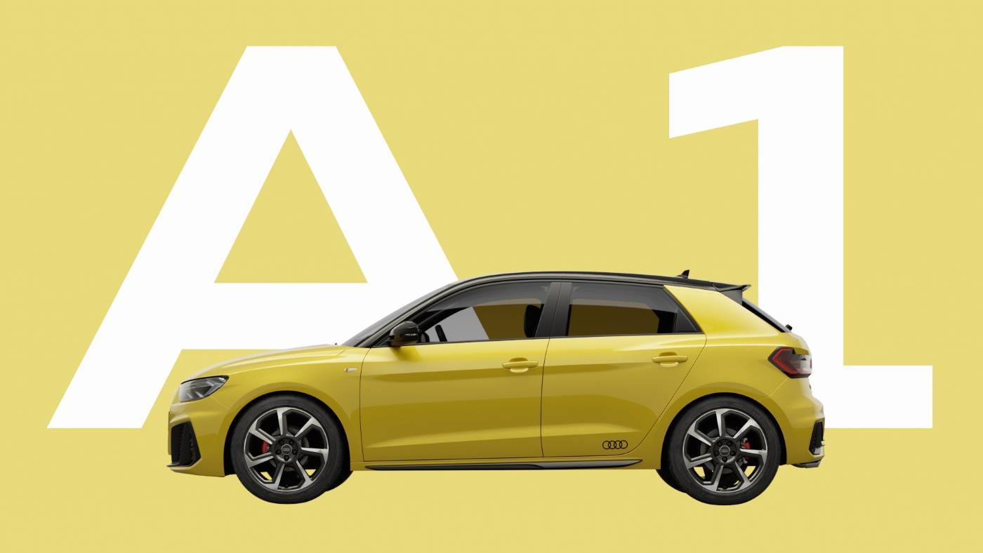 Nouvelle Audi A1 Sportback 2018 - Big yellow