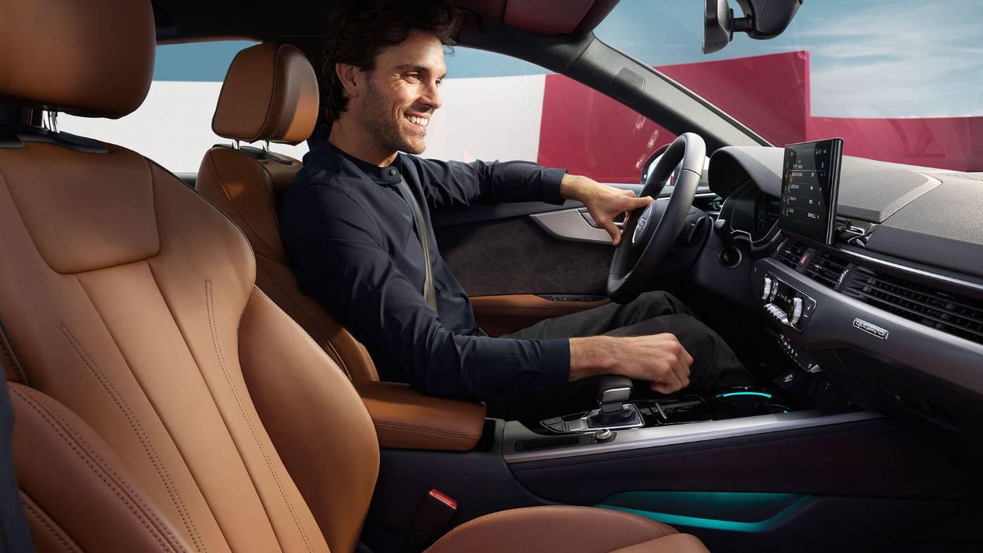Nouvelle Audi A4 2019 2020 intérieur