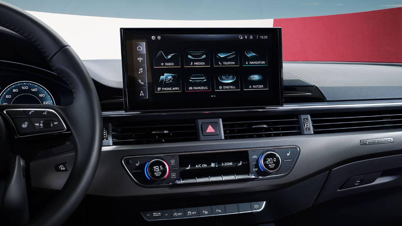 Nouvelle Audi A4 Berline et A4 Avant 2019 2020 mmi