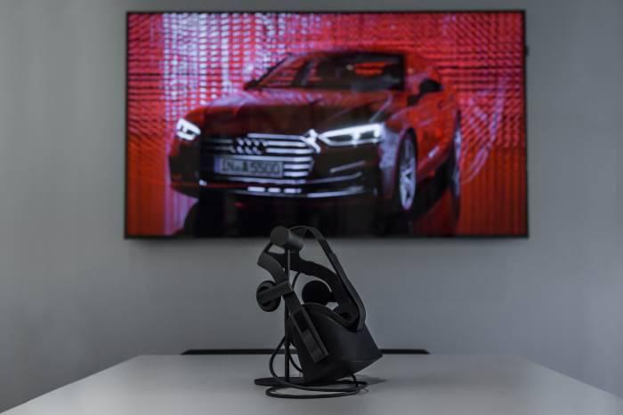 Audi Bauer Paris Roissy casque digital configurer