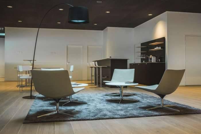 Audi Bauer Paris Roissy Espace détente salon