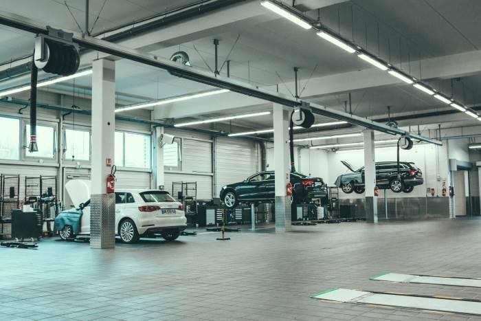 Audi Bauer Paris Roissy Atelier mécanique 700