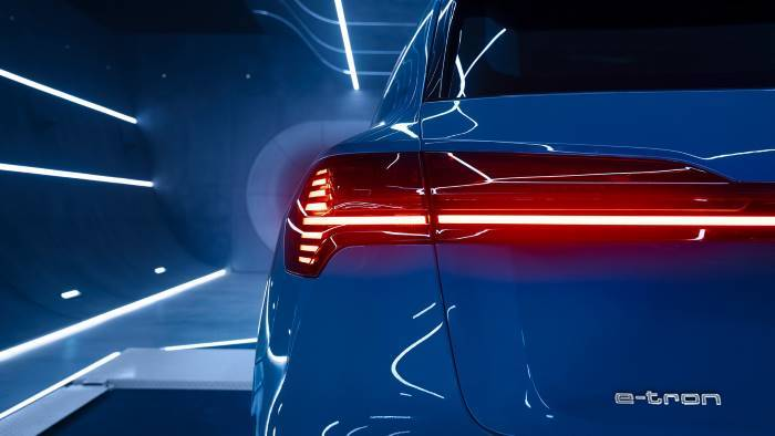 Audi e-tron phares arrières Oled