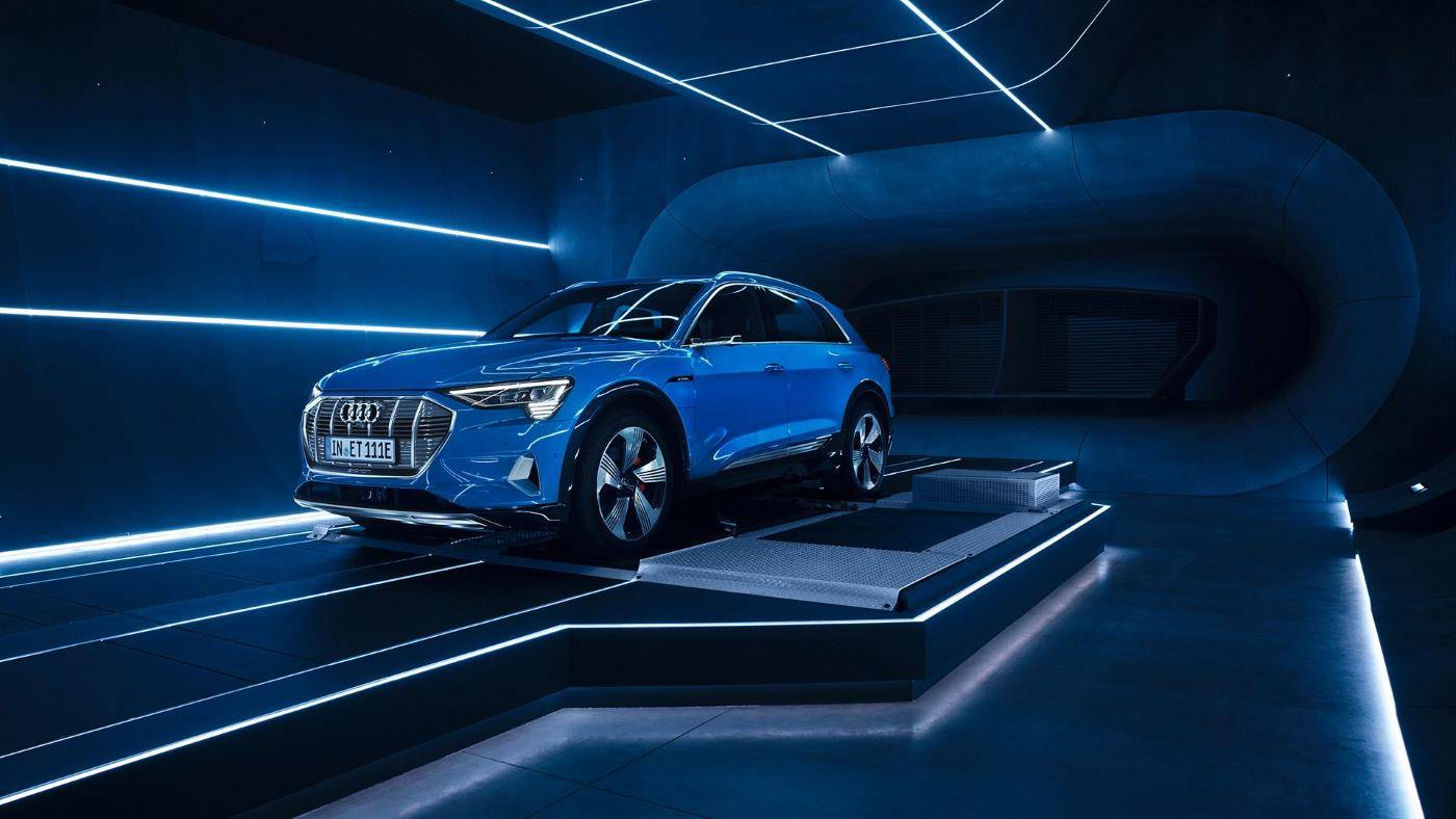 Audi e-tron 2018 3/4 avant