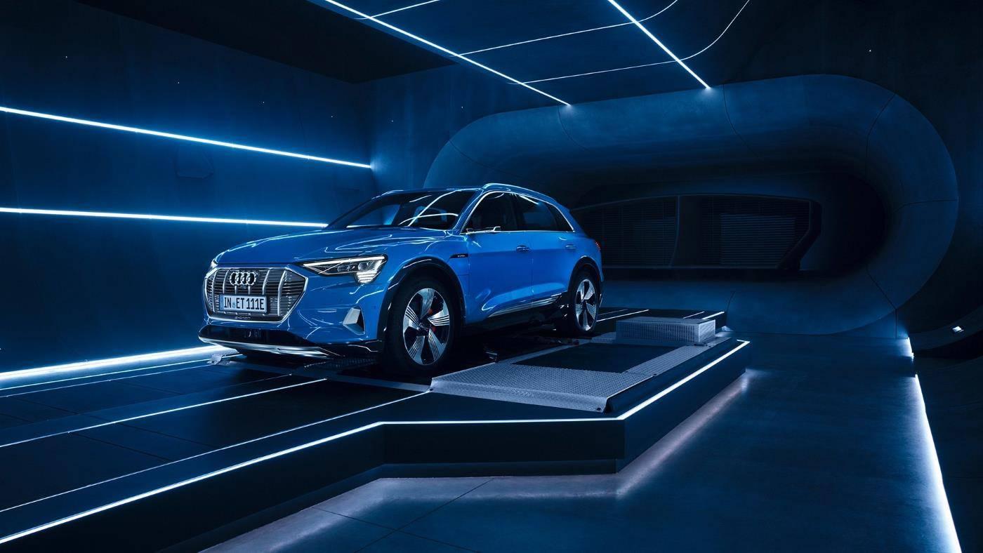 Header Audi e-tron