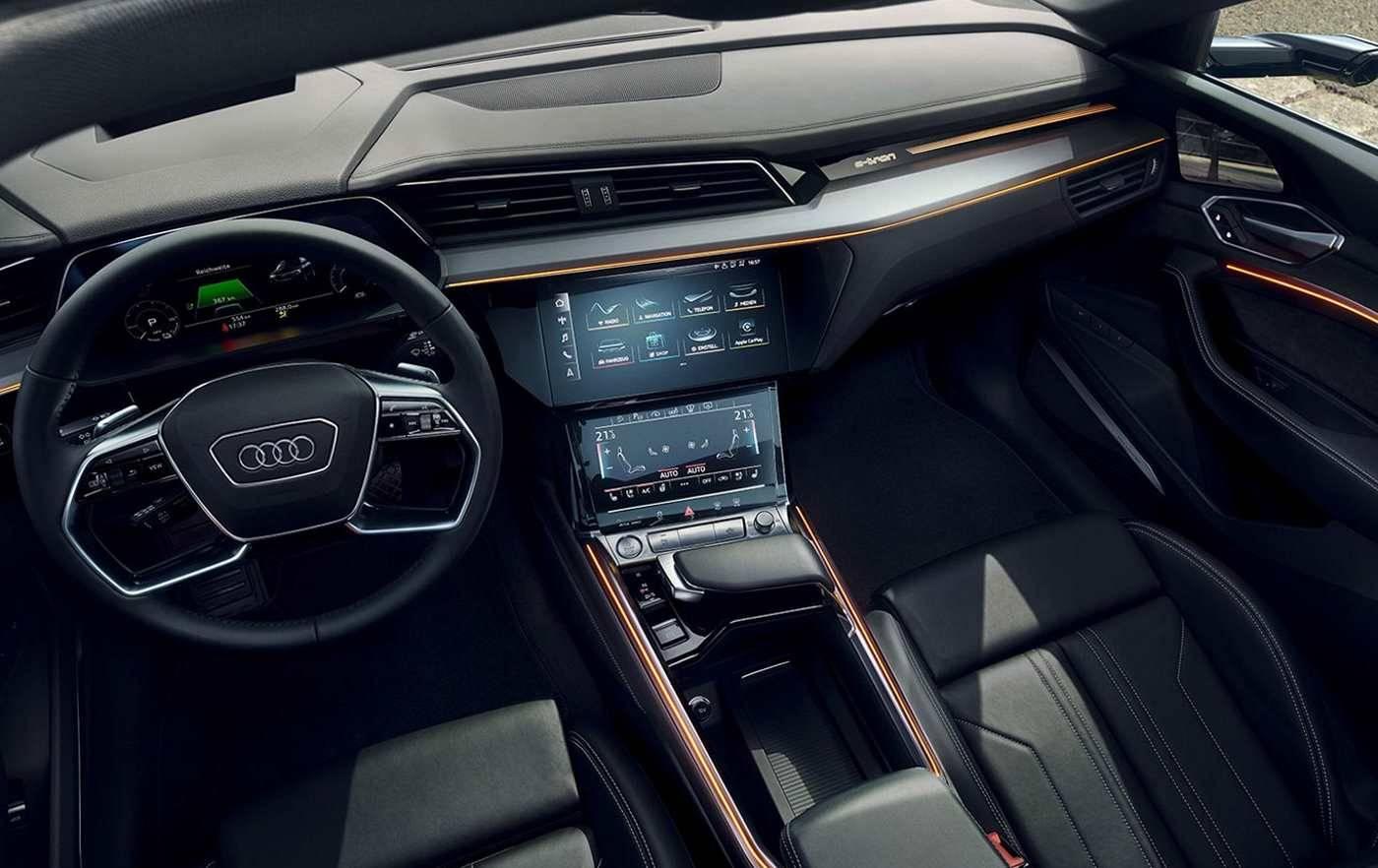 Audi e-tron intérieur digital