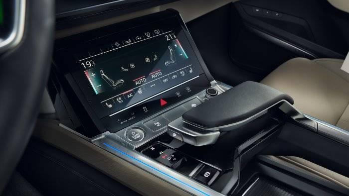 Audi e-tron console digitale