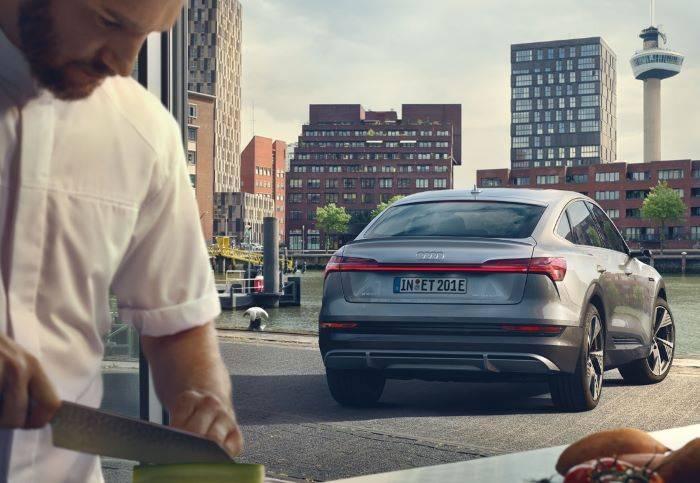 Nouvelle Audi etron Sportback e-tron futur