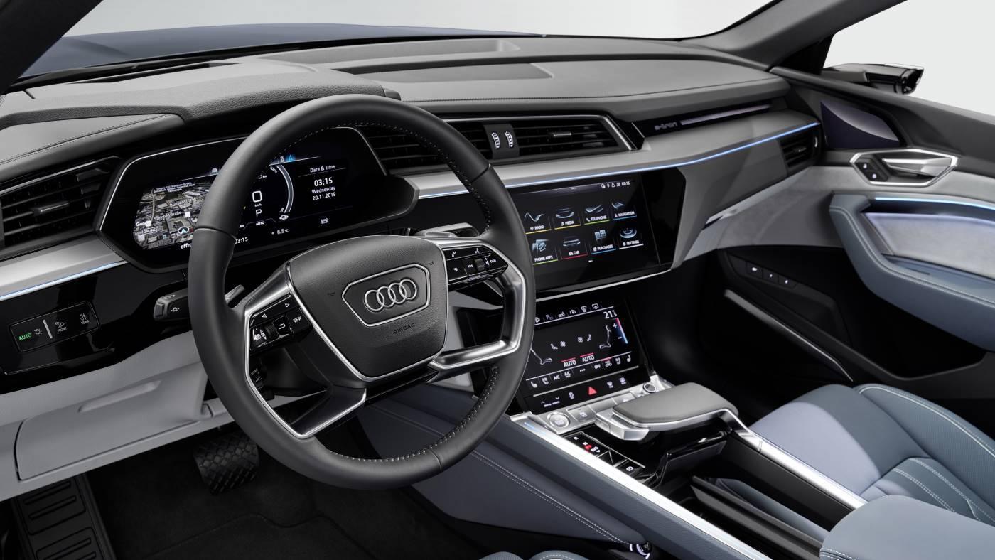 Nouvelle Audi e-tron Sportback intérieur sièges