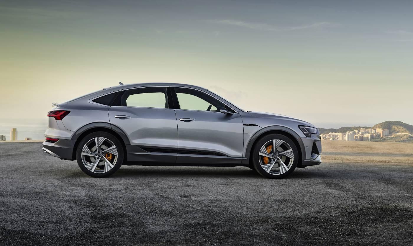 Nouvelle Audi etron Sportback e-tron 2020 electriq