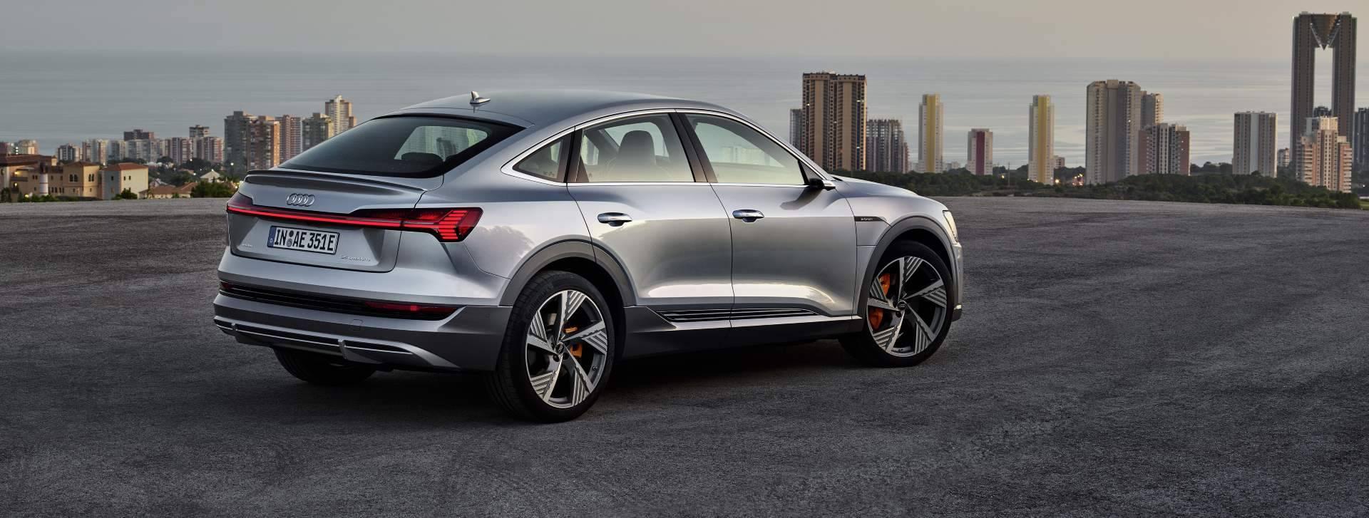 Nouvelle Audi electrique e-tron Sportback propre