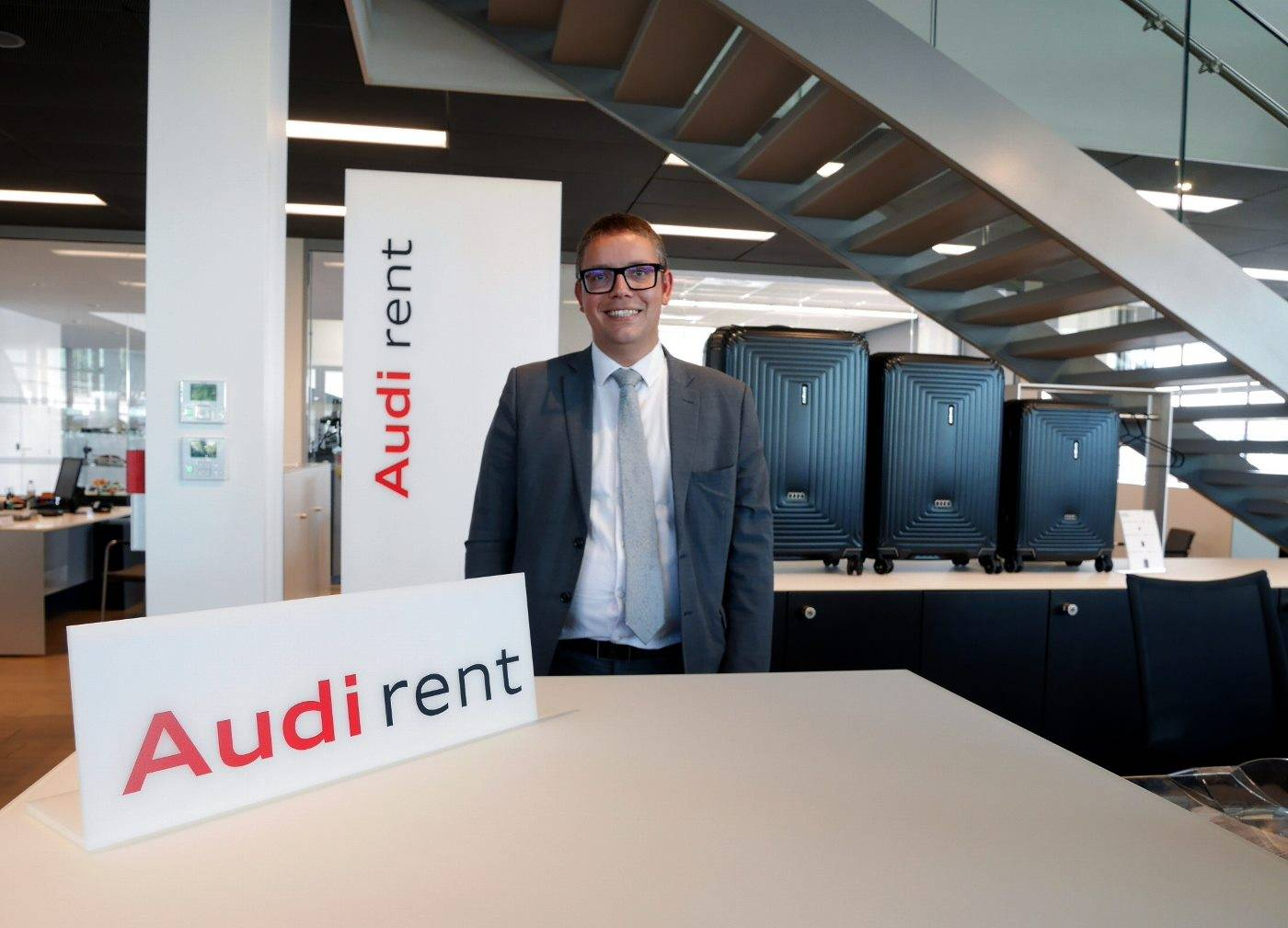 Agence Audi rent Bauer Paris Roissy CDG location