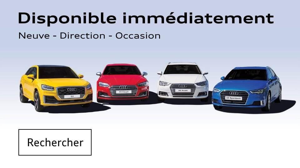 Stock Audi neuve occasion direction disponible voiture véhicule