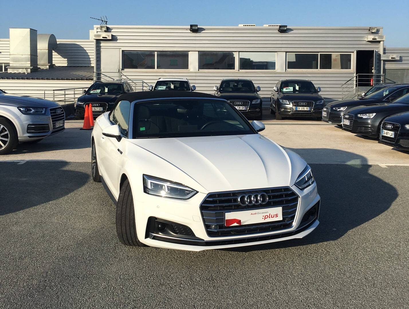 A5 Cabriolet 2.0 TFSI 190 S tronic 7