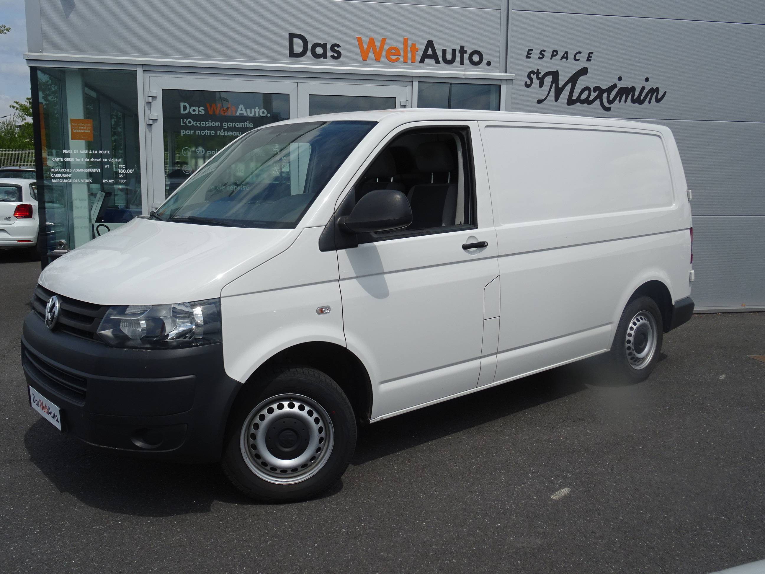 Véhicule occasion - VOLKSWAGEN UTILITAIRES - TRANSPORTER CHASSIS CAB