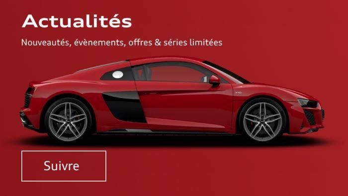 Actualité - Nouvelles Audi - Promo - Articles